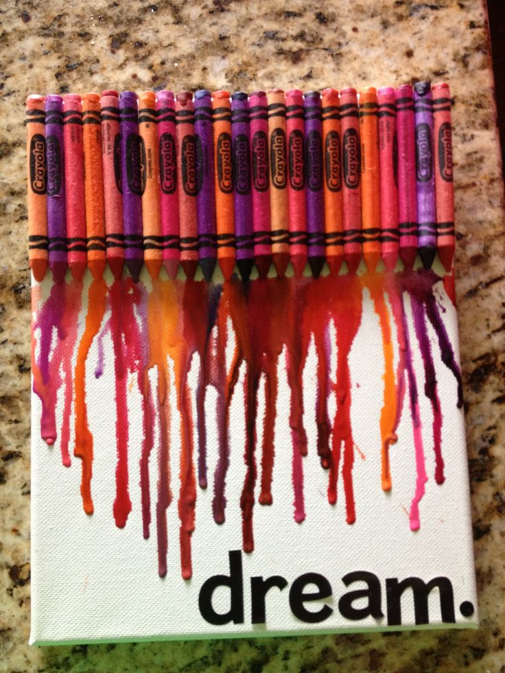 73 best crayon art images on pinterest for Melted crayon art with quotes