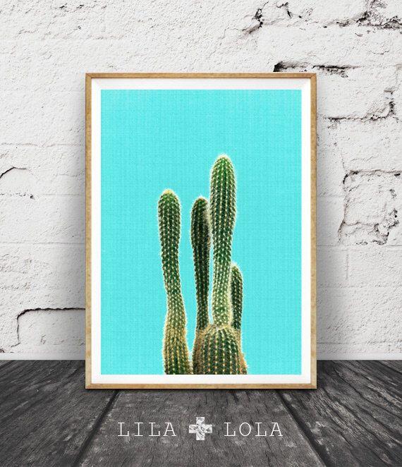 Cactus Wall Art, Turquoise Decor, Mexican, Arizona, South Western, Desert, Art Print, Cactus Wall Art, Printable Art, Minimalist Blue Print by lilandlola on Etsy https://www.etsy.com/listing/252247107/cactus-wall-art-turquoise-decor-mexican