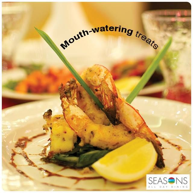 The ‪#‎Iftar‬ buffet at ‪#‎Seasons‬ is an experience by itself.  Break your fast after prayers and gorge on mouth-watering treats of the season!!