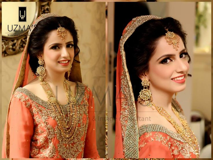 Ravishing traditional bridal makeup by uzma's