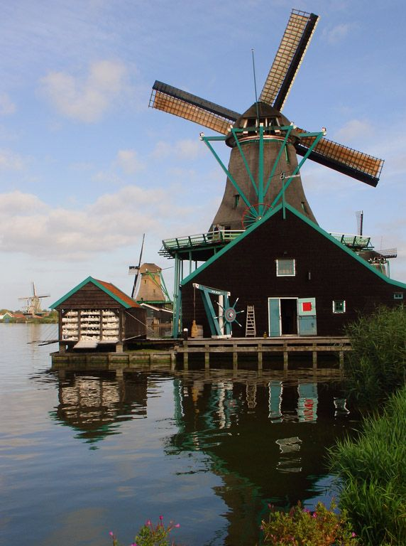 Zaanse Schans, Noord-Holland This litle replica town is a must to see.