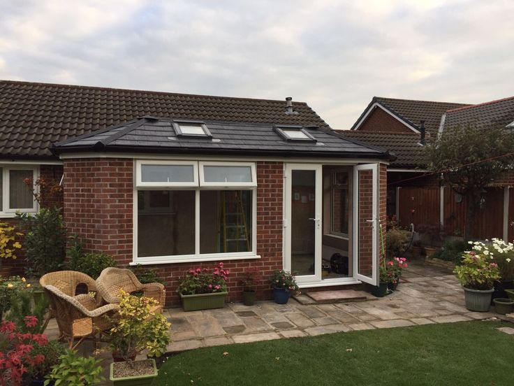 "T & J Conservatories on Twitter: ""Before & after shots of this #gardenroom #makeover #conservatorymanchester #conservatorycheshire #building work #homeimprovement https://t.co/UEs8As6zgV"""