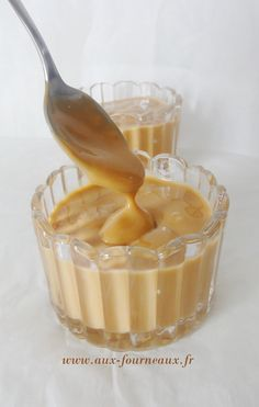 Creme dessert caramel façon Danette