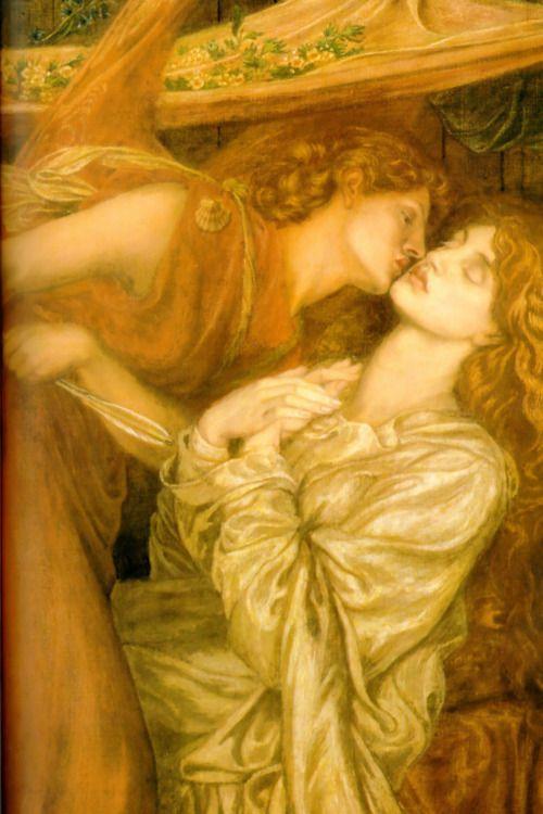 Dante's dream --pre-raphaelite art --✯ Dante Gabriel Rossetti✯ Dante Gabriel Rossetti (1828-1882)