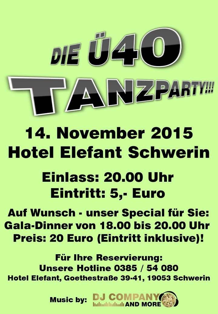 Ü40-Party Schwerin