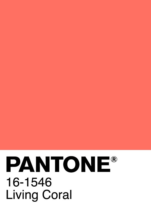 Pantone Color of the Year 2019 – Living Coral #pantone #coloroftheyear #pantonec…