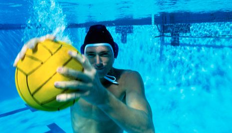 Men's USA water polo player Shea Buckner reveals how he prepares for one of the Olympics' oldest games.