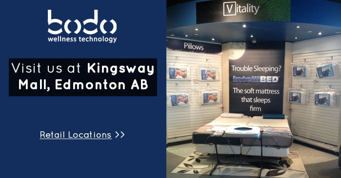 Kingsway Mall - View all Bodo Wellness Technology Retail Stores in Alberta http://www.bodo.ca/pages/retail #Canada