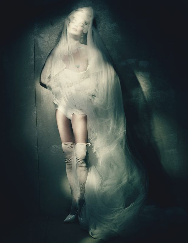 Kate Moss by Paolo Roversi for W April 2015