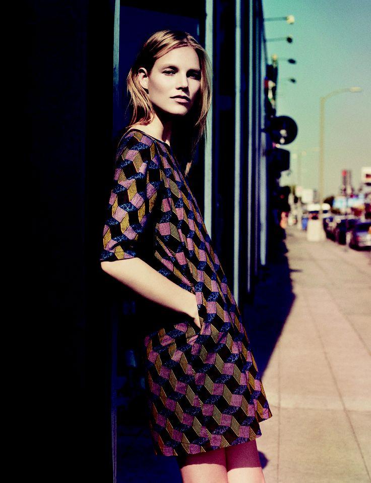 Suvi Riggs wearing Samuji for her interview in Gloria Magazine | Photo Niko Mitrunen