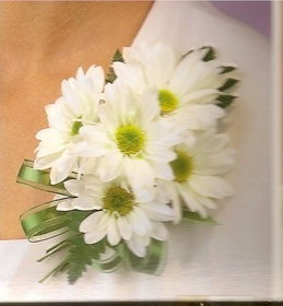 Grandmother's corsage option 1 :)Daisies Corsage, Grandmother'S Corsage, Prom Corsage, Corsage Options, Grandmothers Corsage