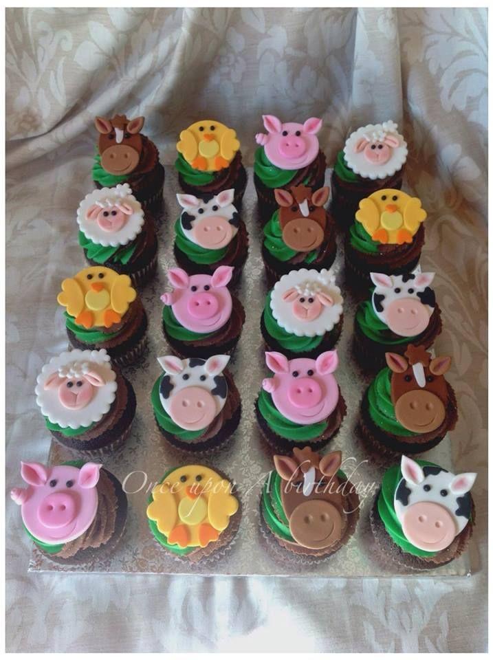 Best 25 Farm Animal Cupcakes Ideas On Pinterest Cow