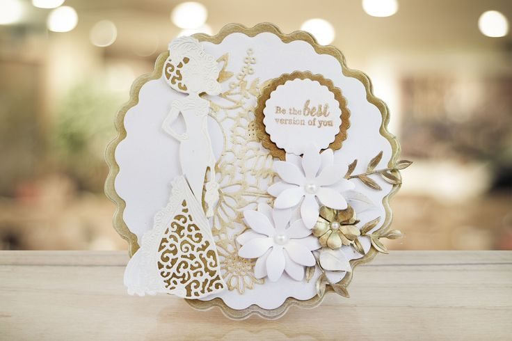 Create beautiful lacy cards and projects with our Goldwork Lace collection. See…