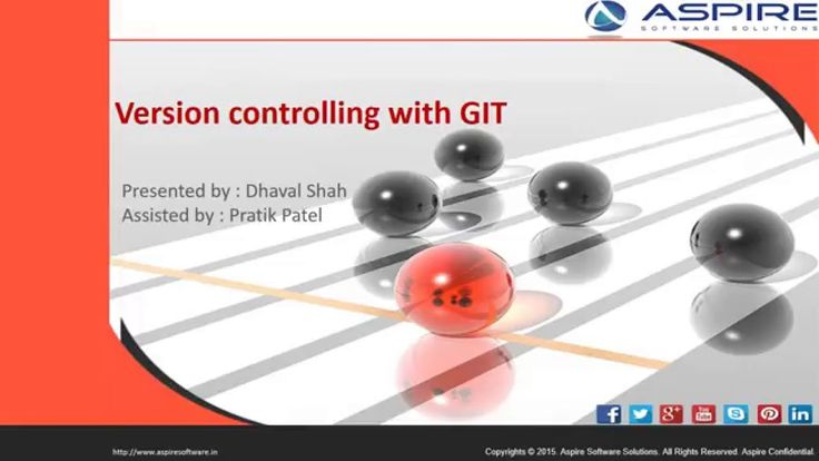 Version Control With GIT -  Aspire Software Solution (www.aspiresoftware...