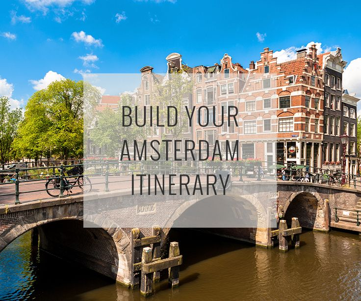 Set your dates, pace and interests, and our Amsterdam Travel Guide recommend an itinerary of top attractions organized to reduce traveling around plus a map to help direct you.