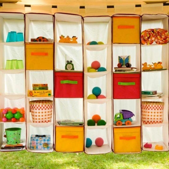 Яркие коробки для хранения игрушек