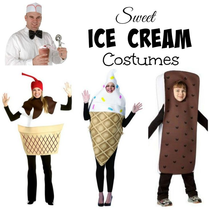 ice cream halloween costumes - Halloween Food Costume