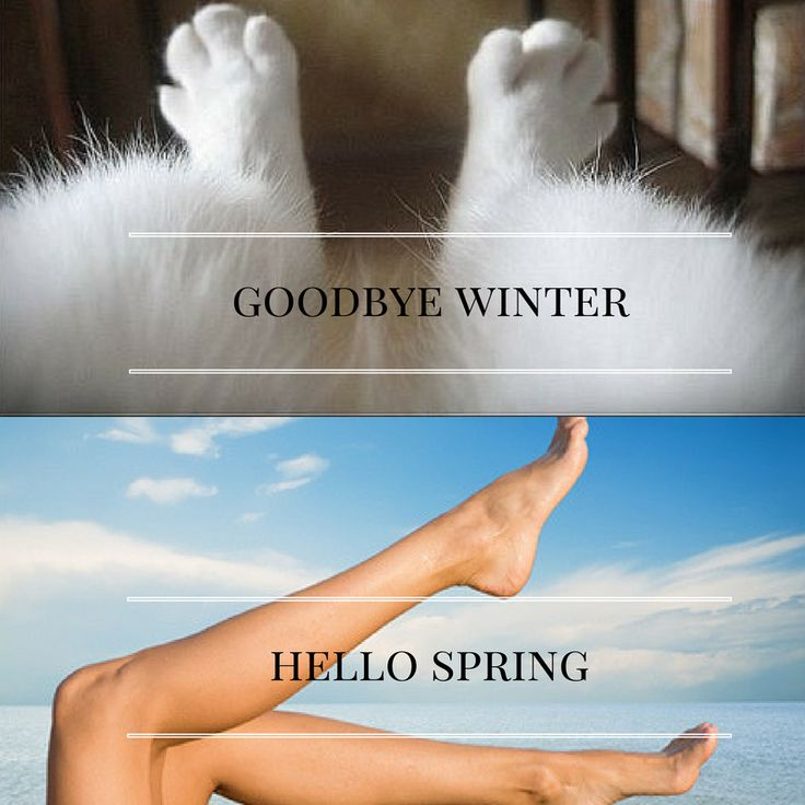 Get ready to tan.  We've all been caught out - sun comes out and we want to get our legs out after the winter, but we haven't waxed or shaved - eek!! Don't forget to exfoliate and make sure those legs aren't too dried out before applying your tan.