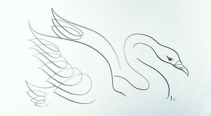 Flourish swan