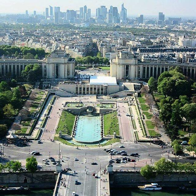 🇫🇷View from the Eiffel Tower 🇫🇷 #beautiful #melbournelifelovetravel #view #paris #picturesque #eiffeltower #toureiffel #parisview #visitparis #france