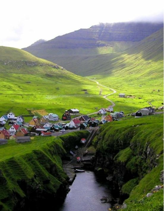 Faroe Islands,Denmark.I want to visit here one day.Please check out my website thanks. www.photopix.co.nz