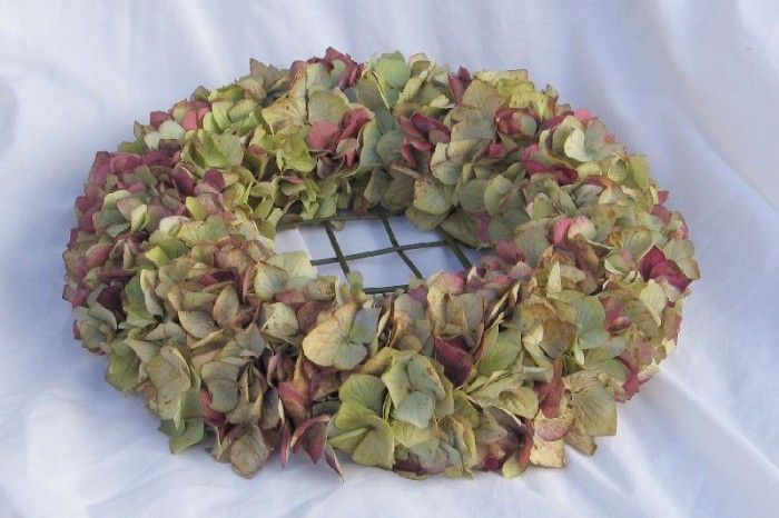 Makkelijk om te doen met hortensia uit eigen tuin