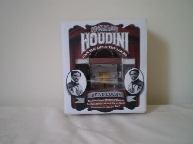 Houdini Puzzle Lock Can You Open The Lock
