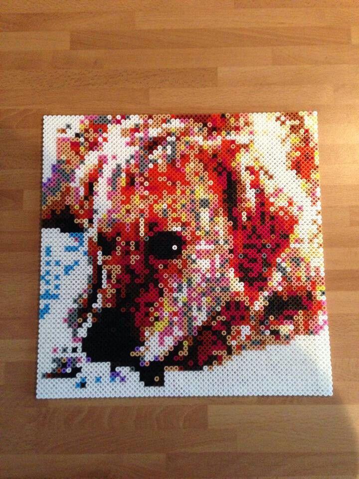 14 best perritos hama beads nuestras creaciones images on - Hama beads cuadros ...