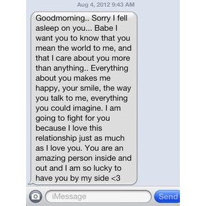 Good morning texts for her dating