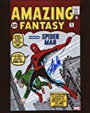 #5: Stan Lee Amazing Fantasy 15 First Spiderman Signed / Autographed 810 Glossy Photo. Includes Fanexpo Certificate of Authenticity and Proof of signing. Entertainment Autograph Original.