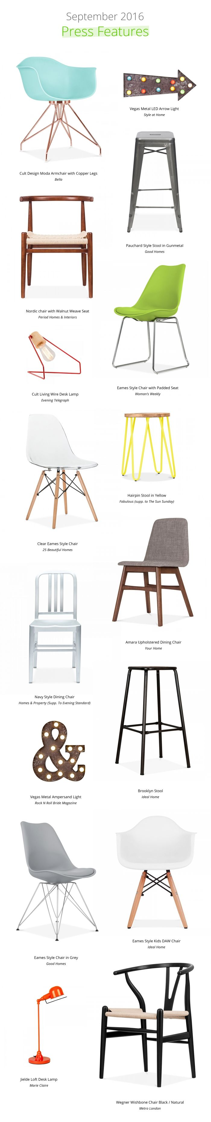 From Moda chairs to Jielde desk lamps, check out our hottest products this september.