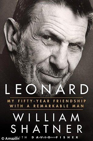 William Shatner (who went to a paid appearance instead of going to Leonard Nimoy's funeral) has now written a book about his relationship with him - Leonard: My Fifty Year Friendship with a Remarkable Man. *Maybe he left out the part about going to a paid public appearance instead of Nimoy's funeral? Hypocrite. No wonder other castmates can't stand Shatner.