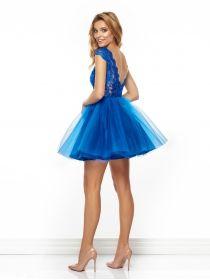 Sukienka Taylor w kolorze chabrowym
