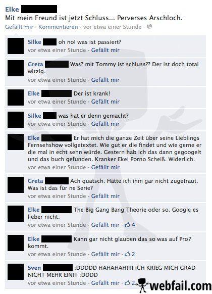 Ein Missverständnis mit Folgen - Facebook Fail des Tages 10.03.2014