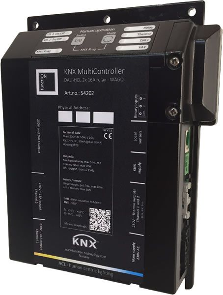 function Technology Shows KNX MultiController DALI-HCL at Light + Building 2016