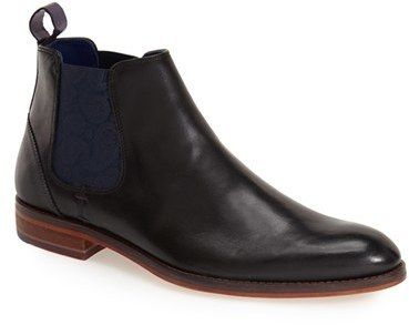 $250, Ted Baker London Camroon 2 Chelsea Boot. Sold by Nordstrom. Click for more info: https://lookastic.com/men/shop_items/335891/redirect