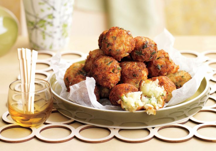 These cod fritters pack in a ton of flavor and are totally worth the extra effort.