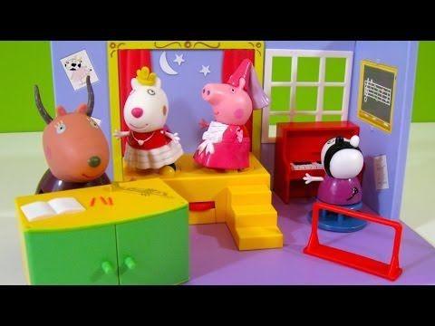 Peppa Pig Academia de Baile - Juguetes de Peppa Pig - YouTube