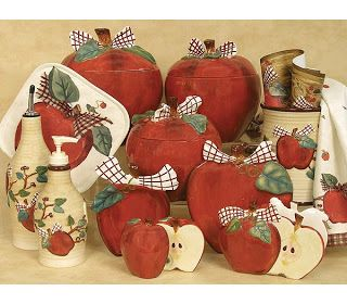 Apple Decorations For Kitchen   The Sunny Sunflower House: Apple Themed  Kitchen