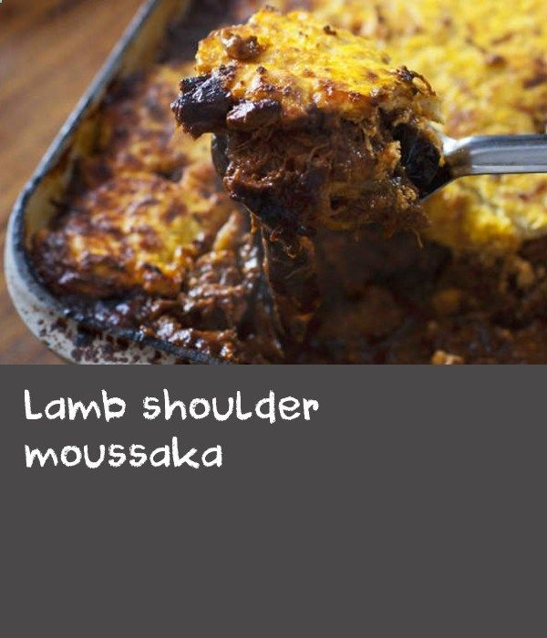 Lamb shoulder moussaka | Matthew Evans shares his recipe for this rich, indulgent Greek moussaka. The heady, cinnamon-spiced eggplant is covered with a creamy ricotta and kefalograviera instead of the usual béchamel sauce. The meaty dish is perfect for a warming family feast.