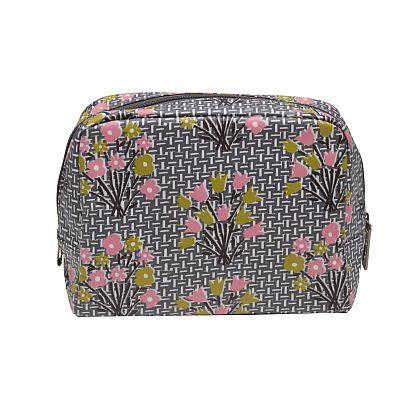 Damson Jam Wash Bag ~ Flower Bed
