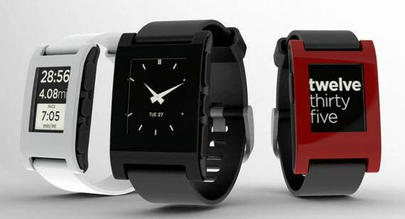 E-Paper watch for iPhone