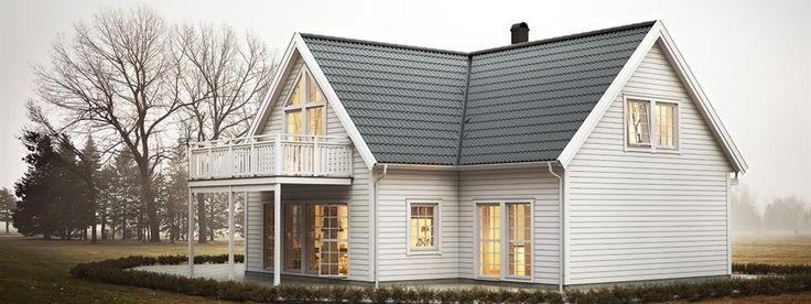 Ekeforshus Providence 192 - 1 1/2-plans hus (192kvm), - EkeforsHus AB