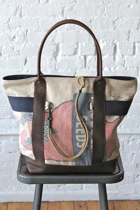 1950's era Seed Bag Carryall