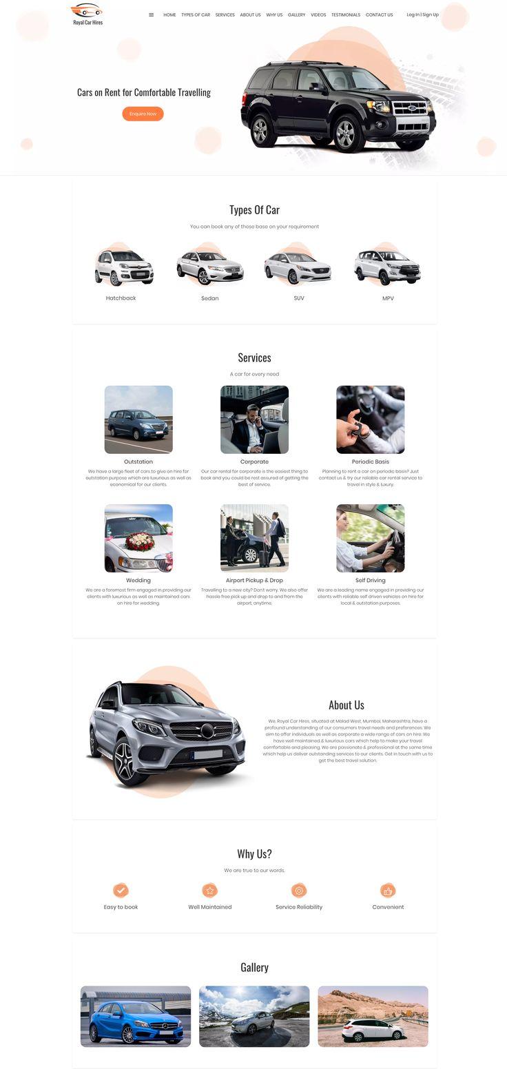 With Omni Websites, Get A Great Car Hire Website Design