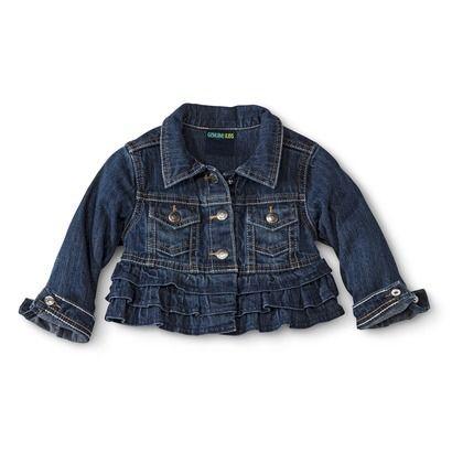 20 best ruffled jean jackets images on Pinterest | Denim jackets ...