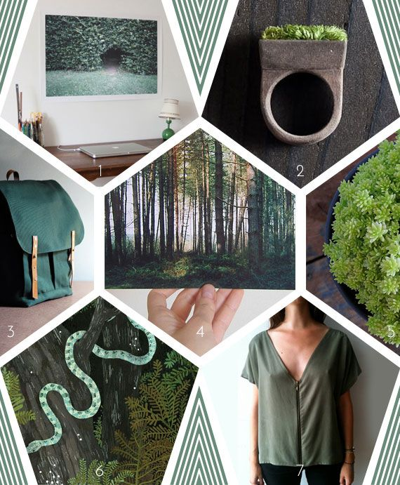 Mood boards by Miss Moss: Lush