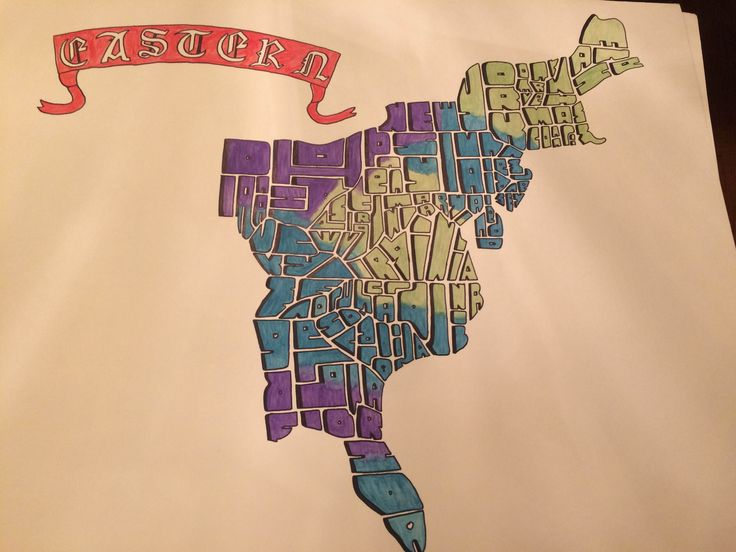 Project Name Time Zone Letter Mosaic Insights A Letter Map Of The United States Was The Origin Of Letter Mosaics So This Time Zone Map Was A Chance To