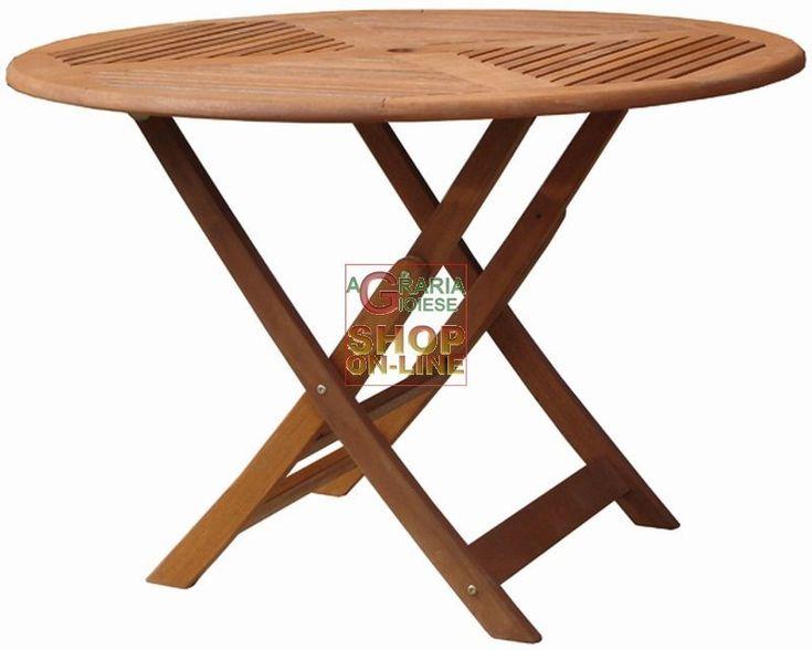 TAVOLO IN LEGNO MOD. CLOE TONDO DIAMETRO CM. 110 http://www.decariashop.it/home/16274-tavolo-in-legno-mod-cloe-tondo-diametro-cm-110.html