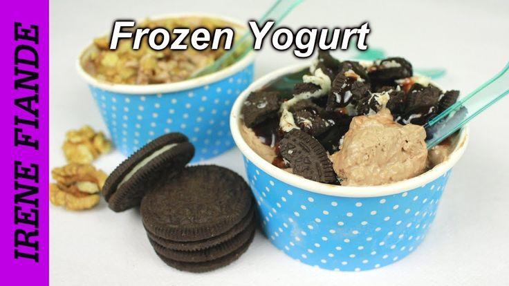 Замороженный йогурт шоколадный.Frozen Yogurt из 3 ингредиентов